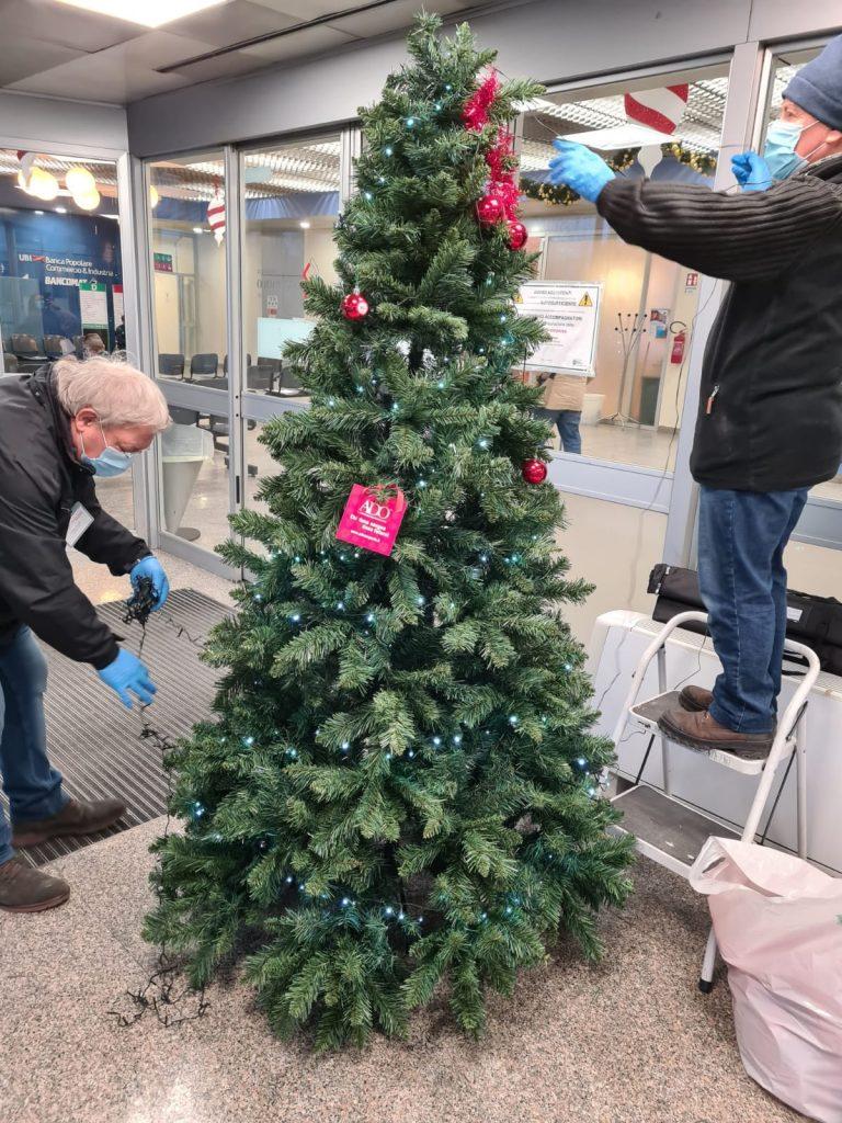 3 allestimento albero di natale ospedale san paolo milano