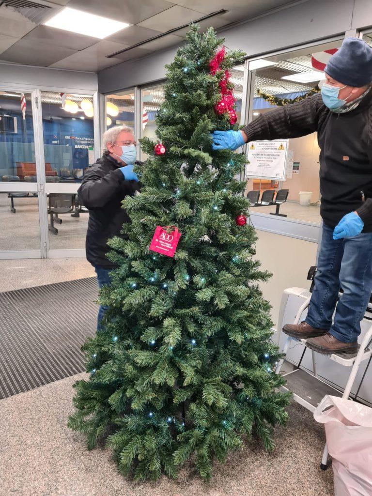 7 allestimento albero di natale ospedale san paolo milano
